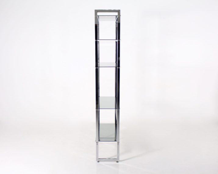 Etagère minimaliste chromée (1 de 2)