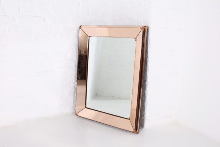 Jacques Adnet: Miroir à parclose.