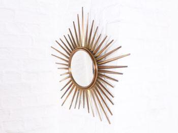 Miroir soleil en laiton