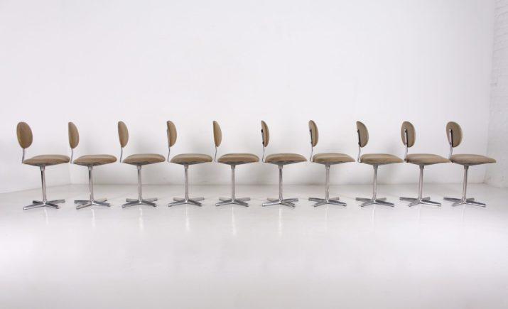 "10 chaises ""Binocle"" Beaufort"