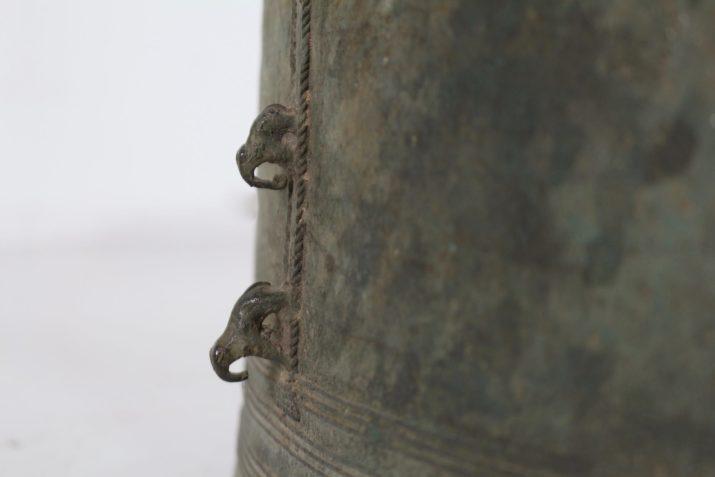 Tambour de pluie en bronze