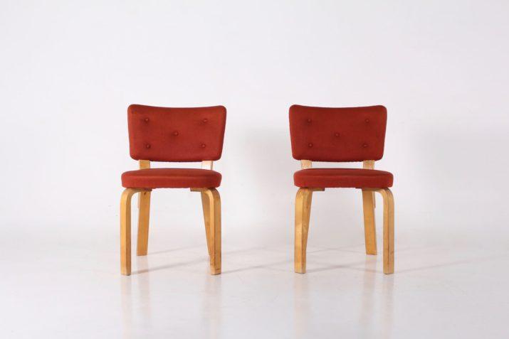 """Alvar Aalto chaises """"modèle 62"""""""