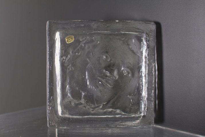 Vide poche en cristal  René Julien & Val Saint Lambert