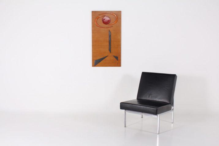 Composition abstraite murale en céramique