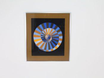 Victor Vasarely, Spirale de Munich, sérigraphie.