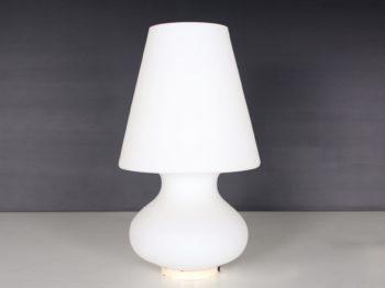 Lampe en opaline
