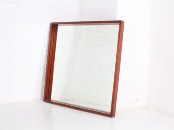 Grand miroir en palissandre Alfred Hendrickx