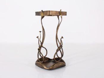 Porte-canne /parapluie en bronze.