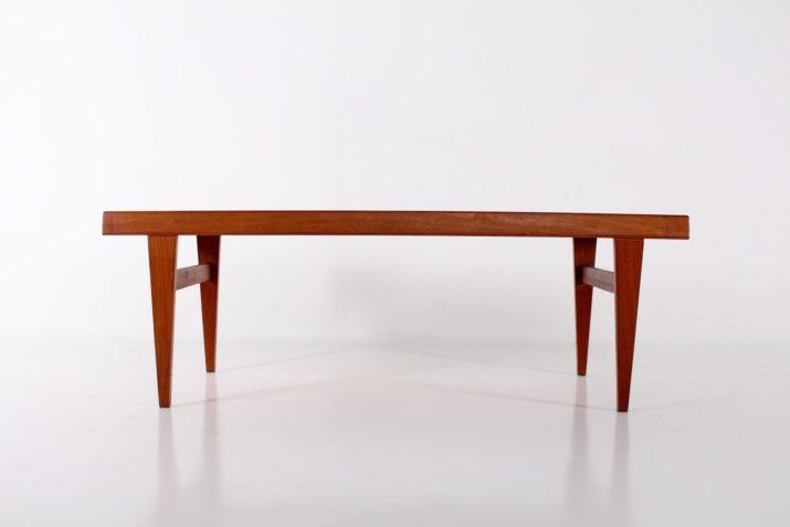 Table basse danoise escamotable