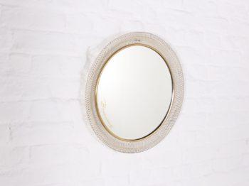Miroir rond en métal rigitule