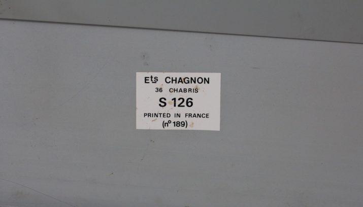 Plaque Michelin & Chagnon