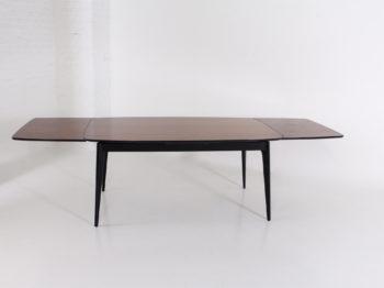 Table à allonges en palissandre, Alfred Hendrickx.