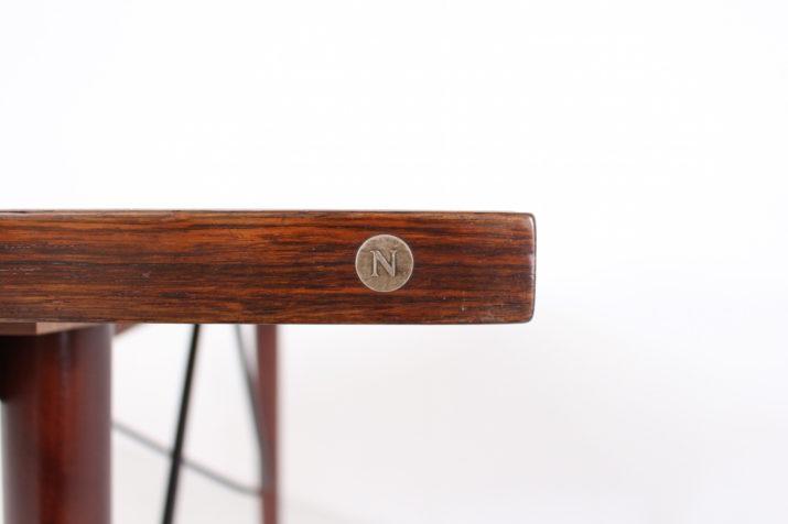 Bureau Table de travail danois en palissandre Nipu