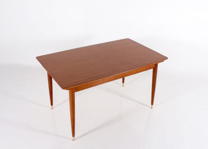 Table à allonges scandinave 1960