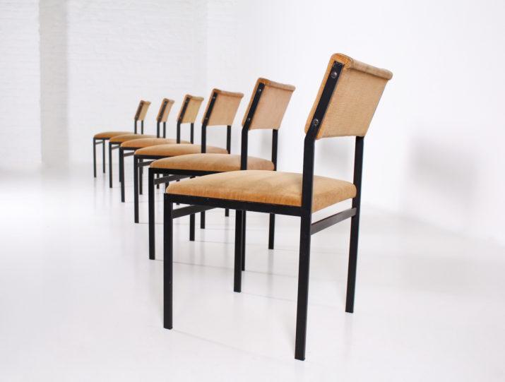 6 chaises Cees Braakman & Pastoe