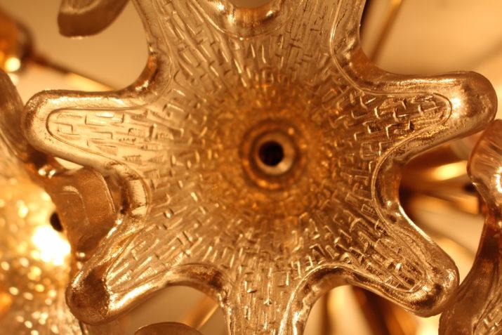 Plafonnier sputnik 'flowerball' Paolo Venini  Murano