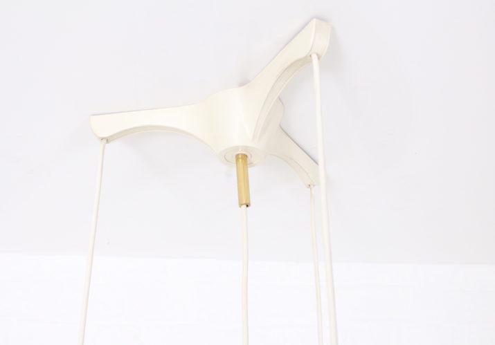 Table ronde à allonges pieds compas *vendue*