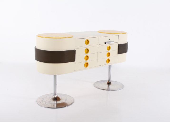 Comptoir Pop-Art style Raymond Loewy