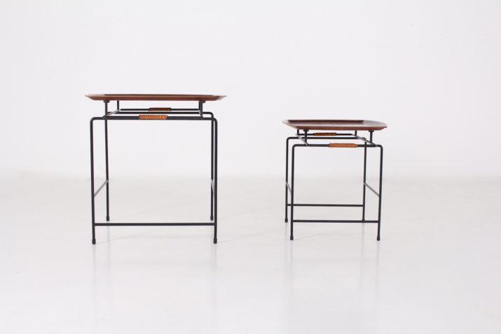 2 tables basses minimalistes Ary Nybro Sweden