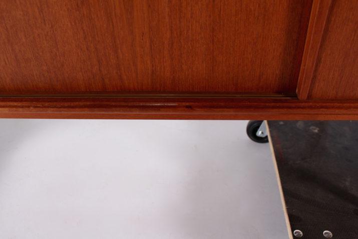 Enfilade danoise à portes coulissantes Gunni Omann Jun