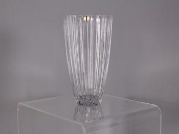 Grand vase style Art Déco en cristal de Paris