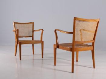 Paire de fauteuils Rudolf Frank