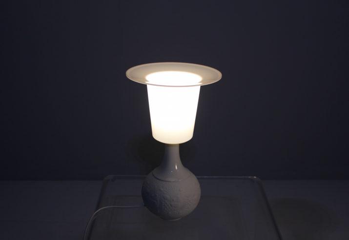 Paire de lampes en biscuit Rosenthal