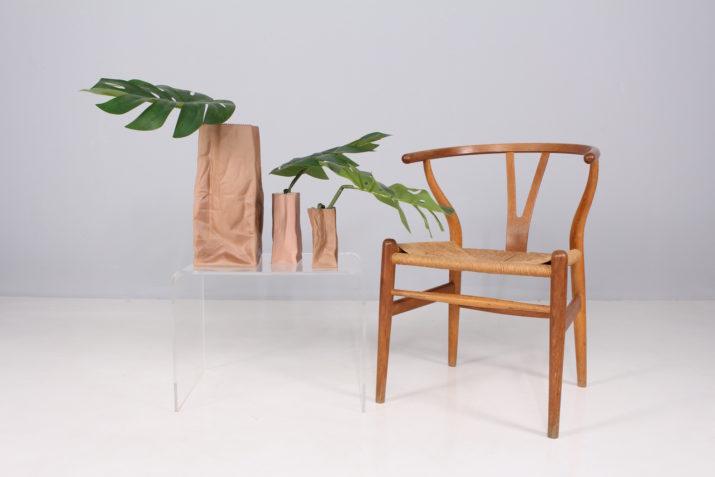 """Tapio Wirkkala & Rosenthal : 3 """" Paper Bag Vase"""" XL"""