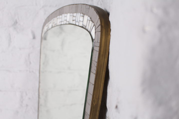 Miroir en mosaïque Berthold Müller Oerlinghausen