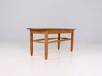 Table basse de chalet en chêne massif