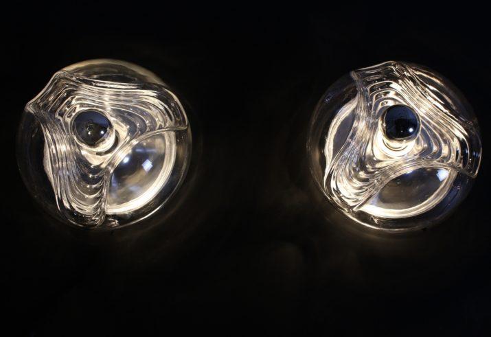 """Lampes / Appliques cinétiques """"Futura"""""""
