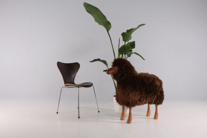 Mouton marron Hanns Peter Krafft XL