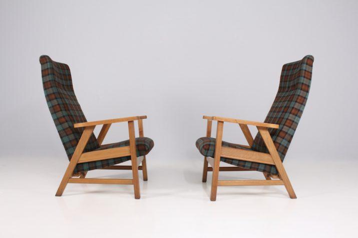 Paire de fauteuils 1950s