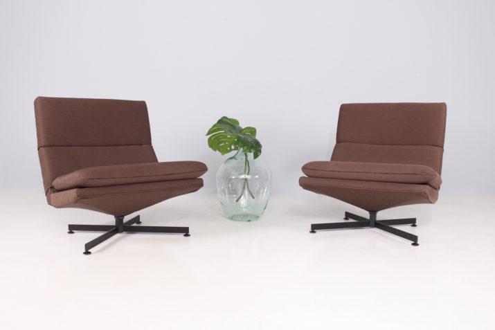 Paire de fauteuils Georges van Rijk & Beaufort